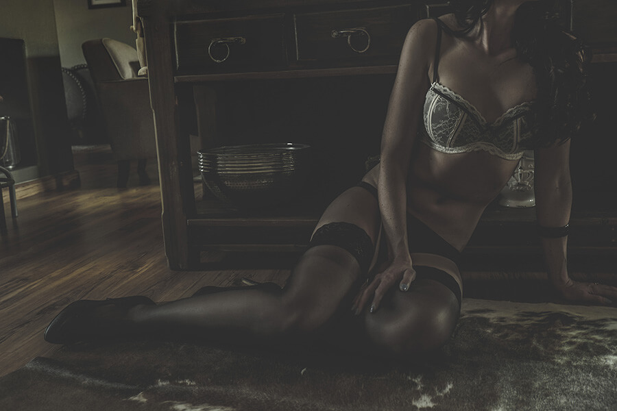 Professional Boudoir Photography on location in Heidelberg in her home for a bride-to-be with sensual lingerie, Yolandi Jacobsz Loci Photography