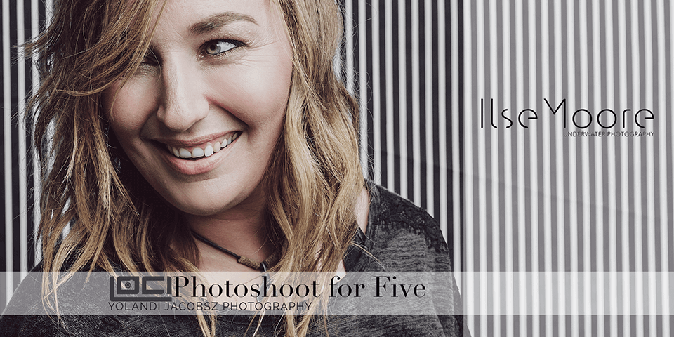 Photoshoot for Five, Ilse Moore
