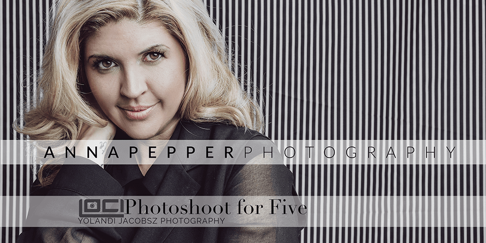 Photoshoot for Five, Anna Pepper