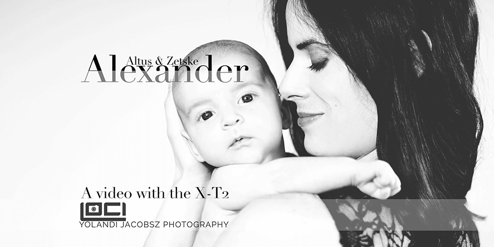 A newborn video with Zetske van Pletzen, and little Alexander