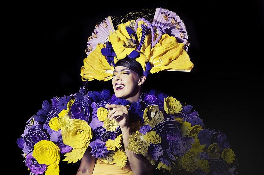 """<img src=""""headdress.jpg"""" alt=""""Headdress photographed with Lume Cube Yolandi Jacobsz"""">"""