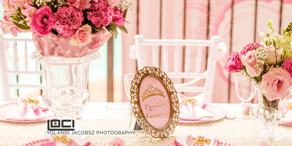 A pink princess party – Event Photography