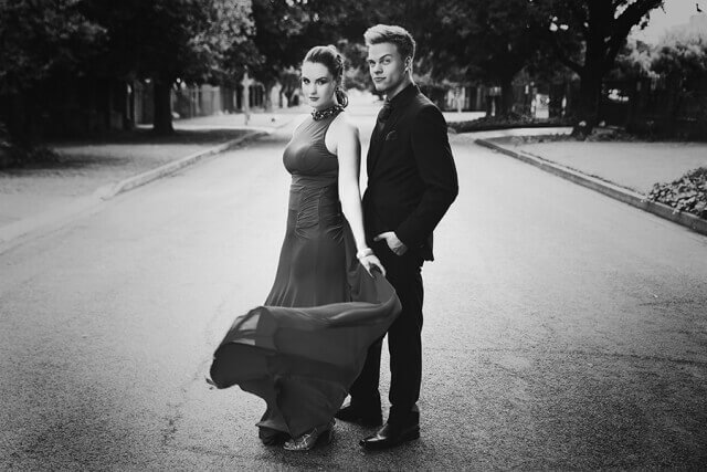 Matric Dance Portraiture for couples done on location in the East Rand, by Yolandi Jacobsz of Loci Photography