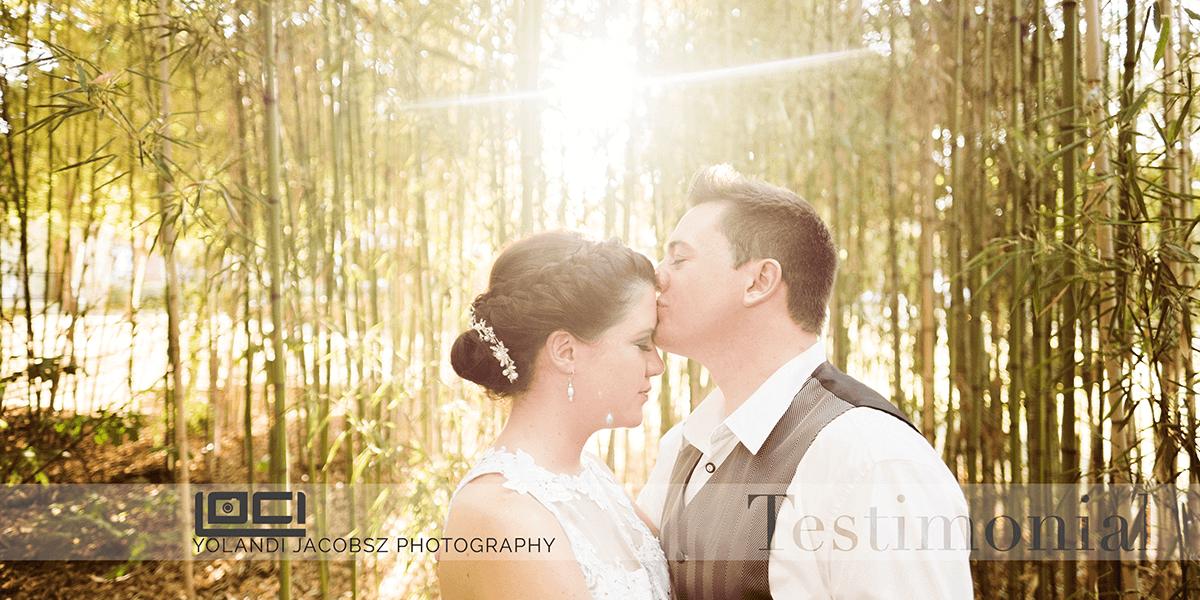 Wedding Photography done in Pretoria – Testimonial