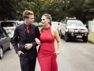 Matric Dance Portraiture done for couples on location in the East Rand, by Yolandi Jacobsz of Loci Photography