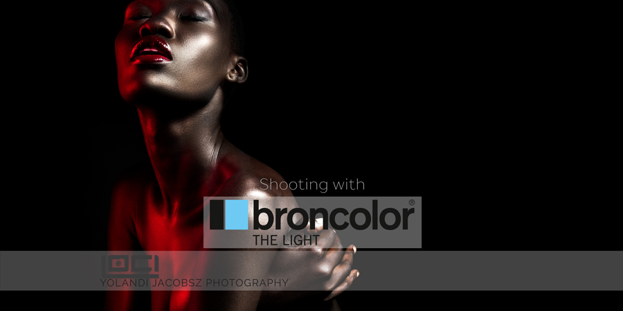 Shooting with amazing Broncolor lights- and gear