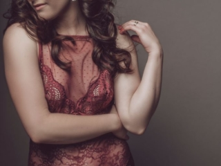 An example of boudoir photography done beautifully and professionally in studio, by Loci Photography
