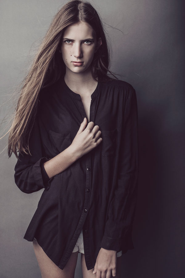 An example of edgy portfolios shot in studio for young models joining agencies, professionally photographed by Loci Photography