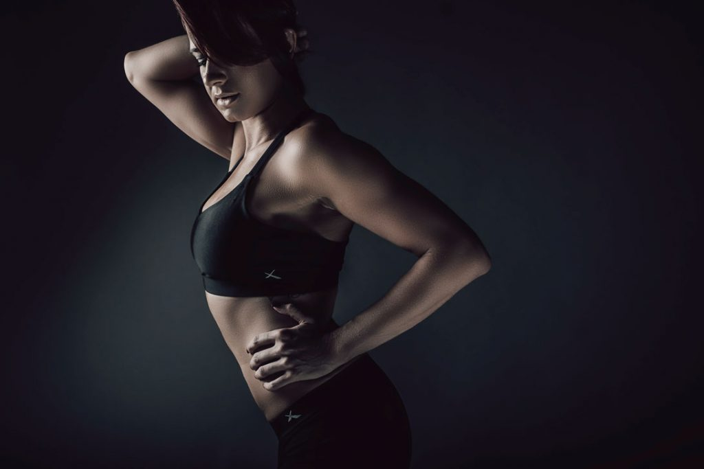 Example of professional fitness photography done in studio in Pretoria, by Loci Photography