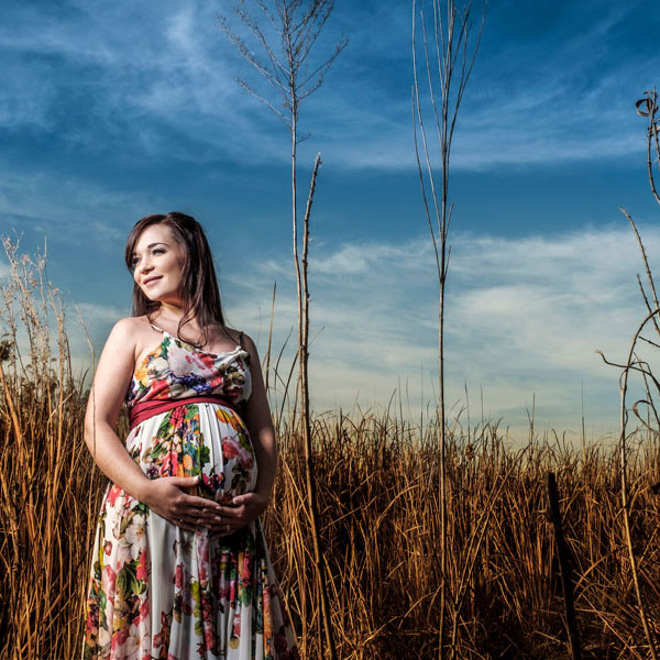 An example of professional beautiful maternity photos done by Loci Photography, in Johannesburg South.