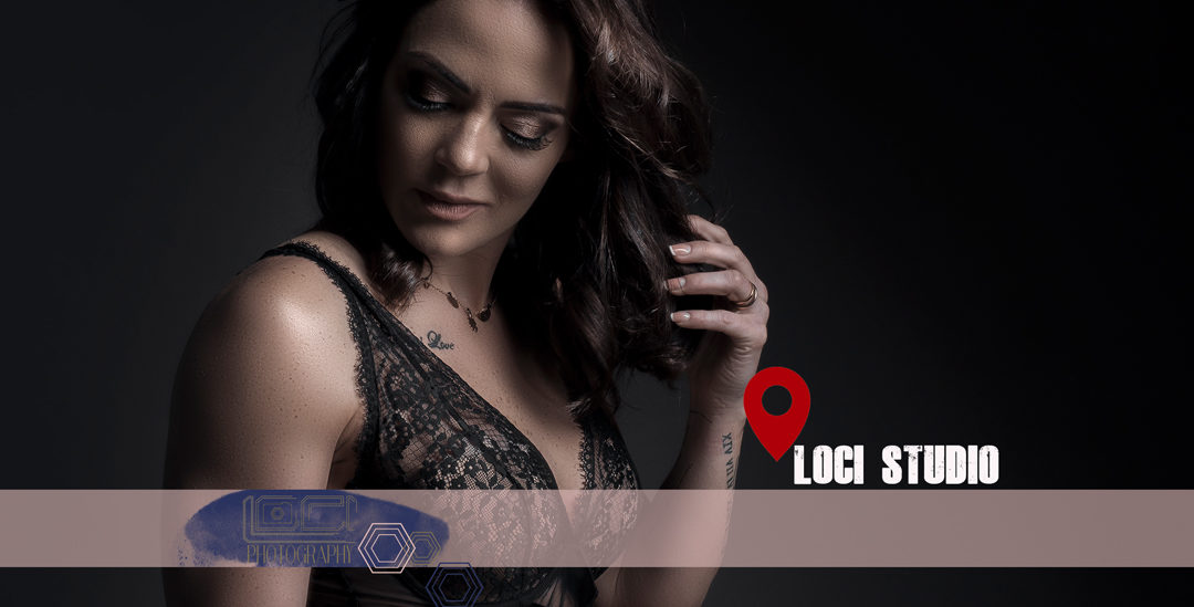 Professional boudoir studio photography, by Loci