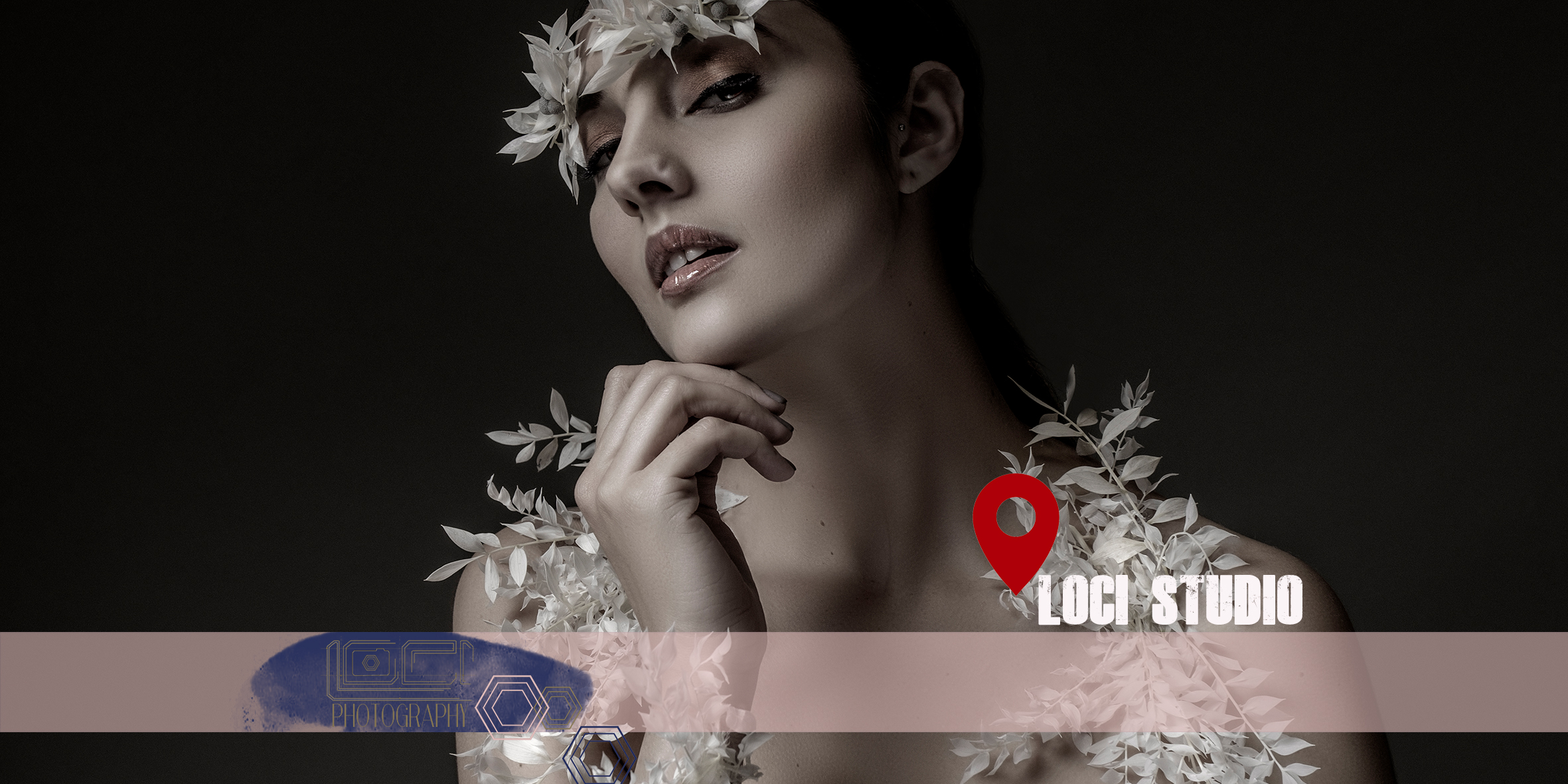 Getting creative, collaborating in studio with other creatives and Loci Photography