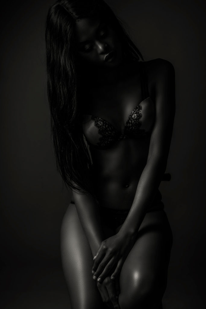 Boudoir shoot at the Loci photography Studio