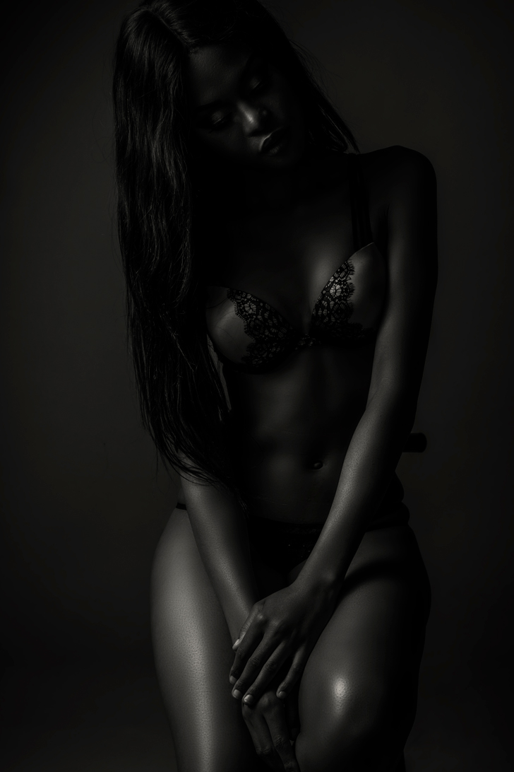 Boudoir shoot at the Loci photography Studio