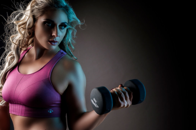 Professional fitness shooting at the Loci Photography studio in Pretoria, by pro-photographer Yolandi Jacobsz