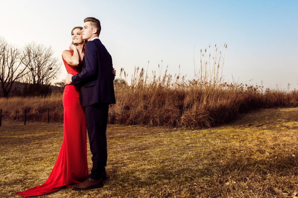 Doing professional matric dance photography in Johannesburg South by Loci Photography