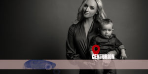 Moody, modern family portraits in studio by Loci Photography
