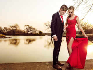 Professional photography - Couple before dance
