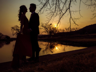 Couple dance photography - Sunset shot
