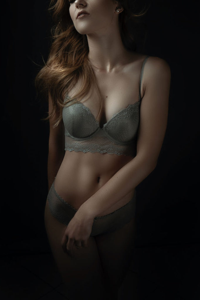 Stunning boudoir images done in the Loci Photography studio.