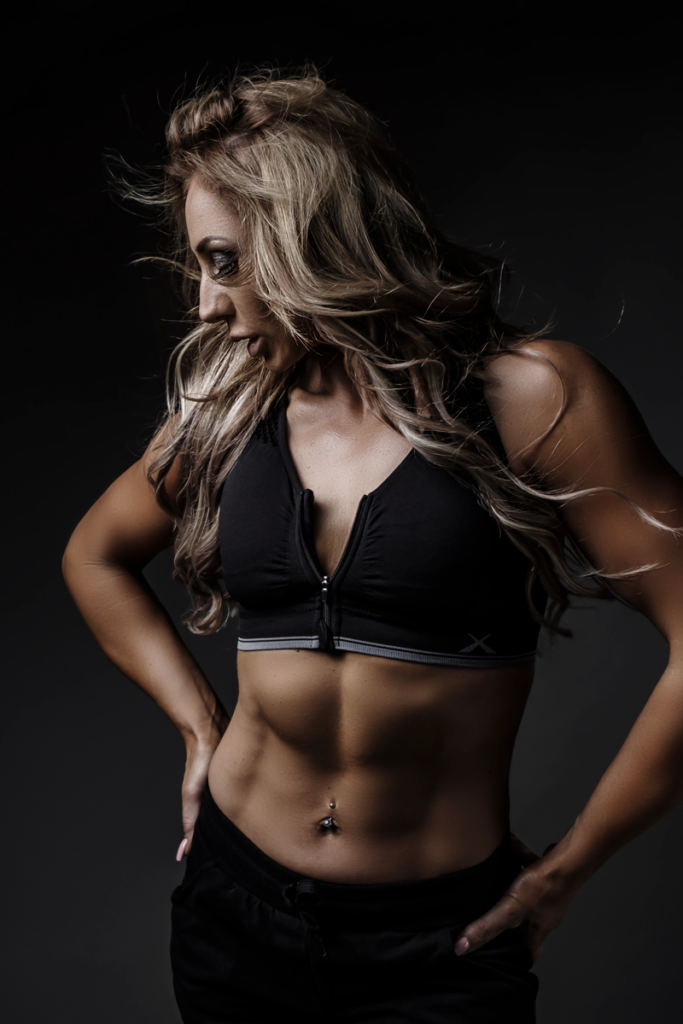 Fitness shoots with attitude, taken in studio by Loci Photography