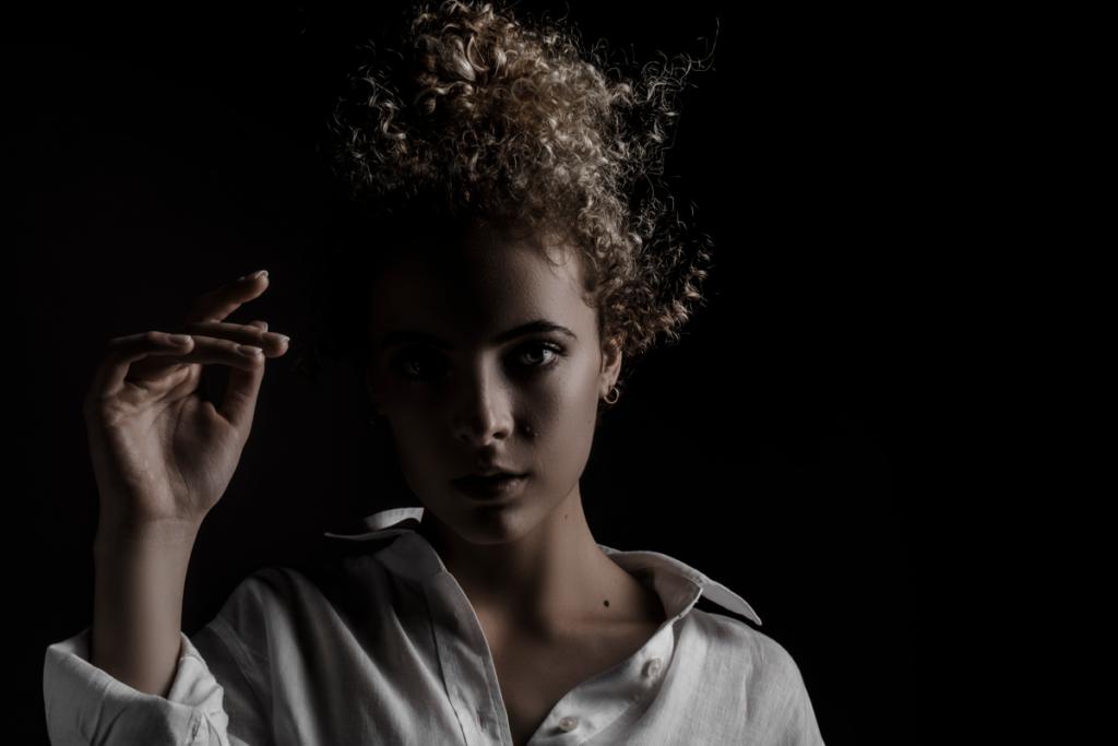 Moody portfolio portraits by Loci Photography.