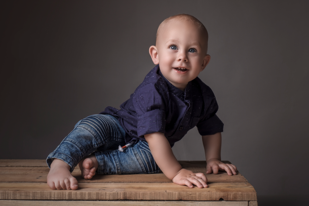 Family photography done in studio by Loci Photography.