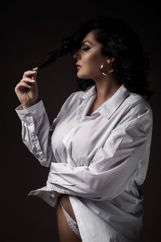 Stunning boudoir photography done at the Loci Photography Boudoir Studio