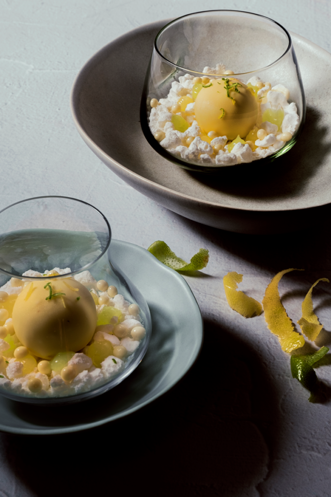 Food styling for a chef's cookbook by Yolandi Jacobsz of Loci Photography
