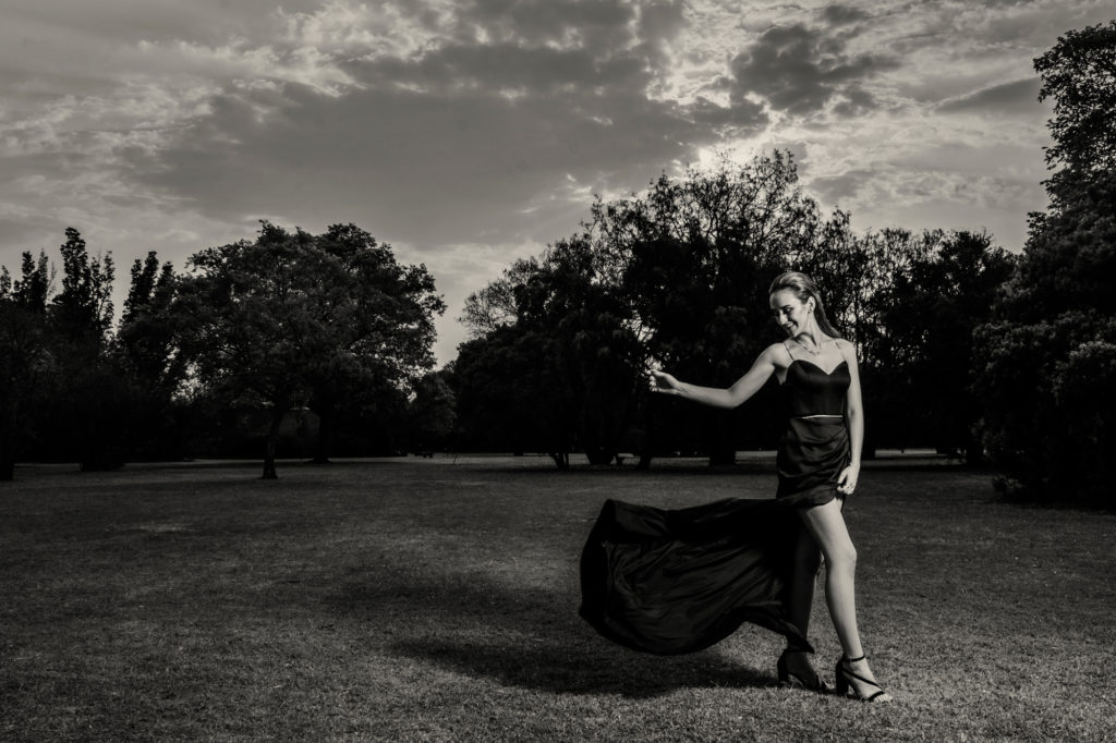 Image of Professional matric dance image done on location in Pretoria at the Pretoria Botanical Gardens by photographer Yolandi Jacobsz of Loci Photography