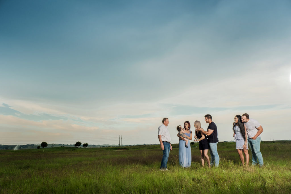 Image of family photography done on location in Kempton Park by Pretoria photographer Yolandi Jacobsz of Loci Photography
