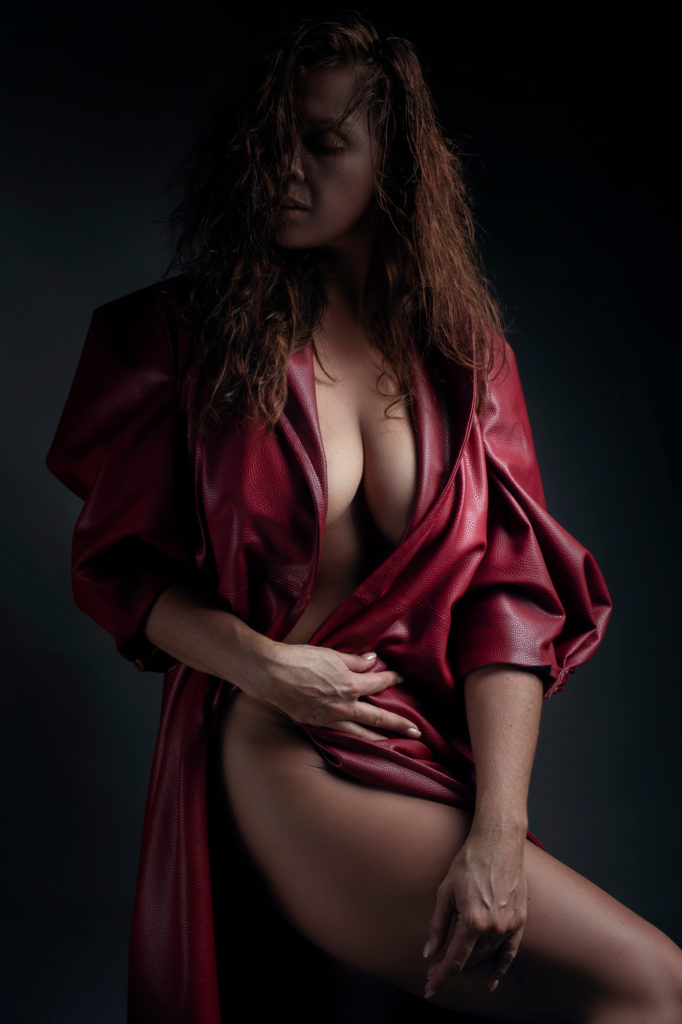 Clothing range for Loci Photography called Nicolassi, are garments to hire for boudoir shoots in studio