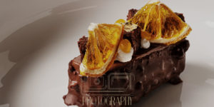 Professionally styled food photography