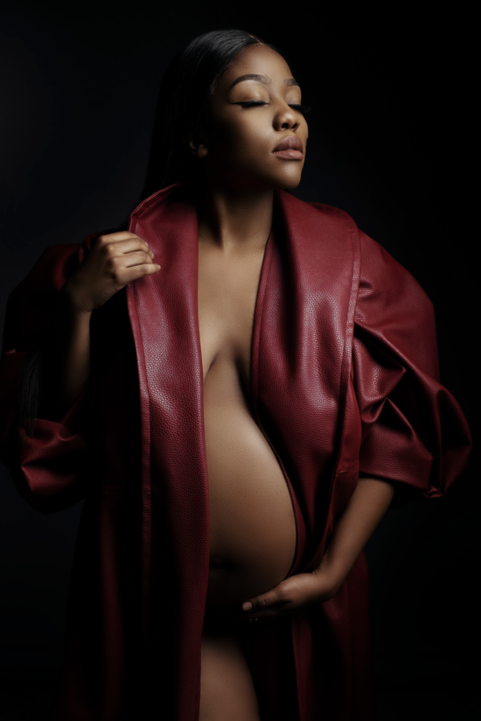 Stunning maternity shoots done in studio with Loci Photography and the Nicolassi clothing range.