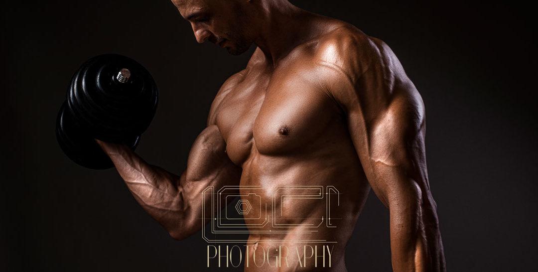 The fitness shoot done in studio, Pretoria