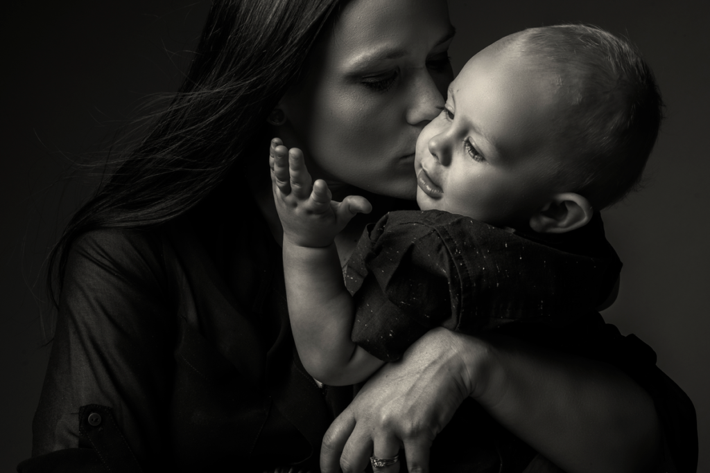 Gorgeous baby photography by Loci Photography.