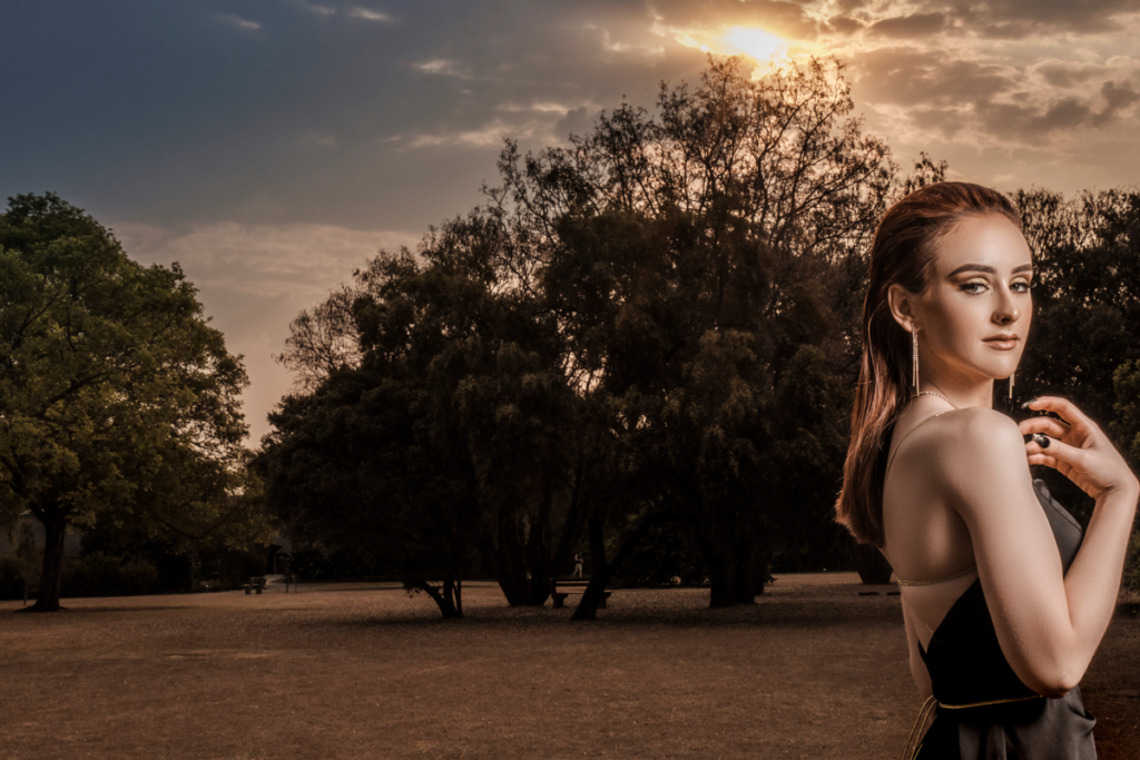 Using the stunning Pretoria Botanical gardens as backdrop for matric dance photography by Loci Photography